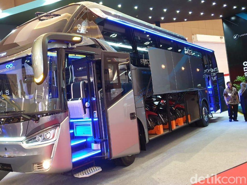 Berapa Ongkos Angkut Motor di Bus Saat Mudik?