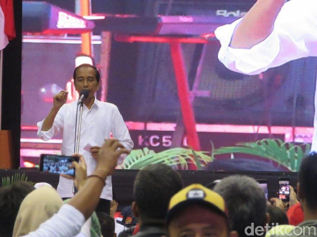 Di Depan Cak Lontong, Jokowi Ungkap Alasan Jan Ethes Nempel Dengannya