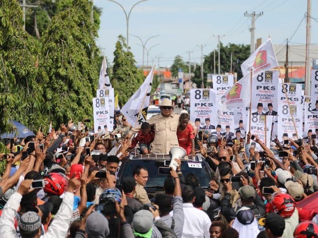 BPN Prabowo soal Survei CSIS: Elektabilitas Jokowi Tak Sebesar Itu