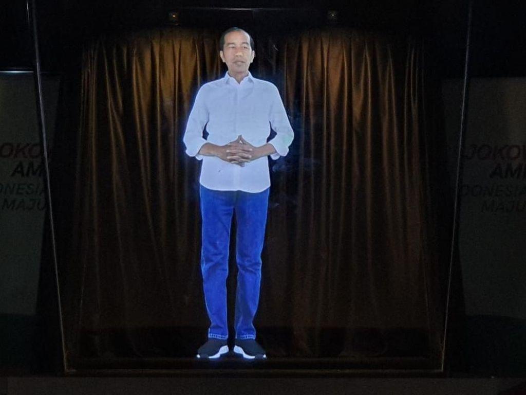 TKN: Kampanye Hologram Sapa Warga yang Tak Bisa Didatangi Jokowi-Maruf