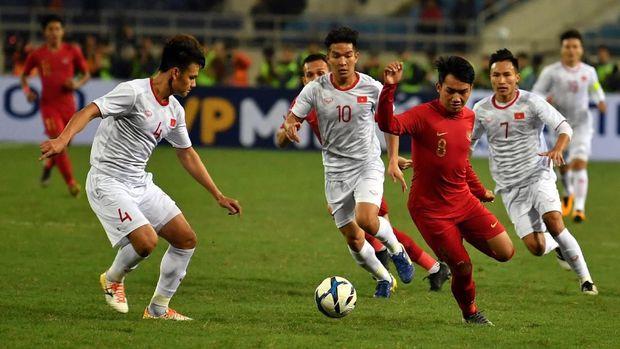 Timnas Indonesia U-23 juga berambisi mencetak gol pertama.