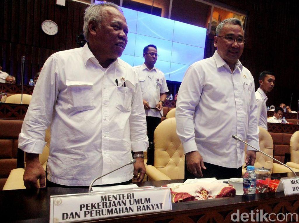 DPR Rapat Bareng Menteri PUPR dan Mendes, Ini Hasilnya