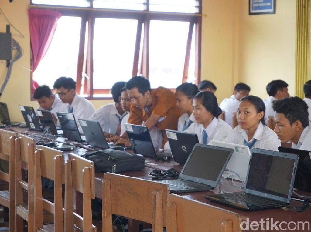 Listrik-Internet Belum Stabil, 3 SMK di Kepulauan Mentawai Sumbar Tak UNBK