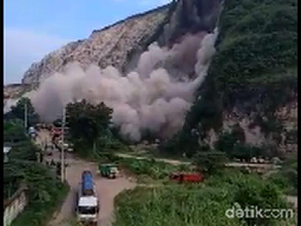 Korban Tertimbun Longsor Gunung Kapur Jember Dipastikan Satu Orang