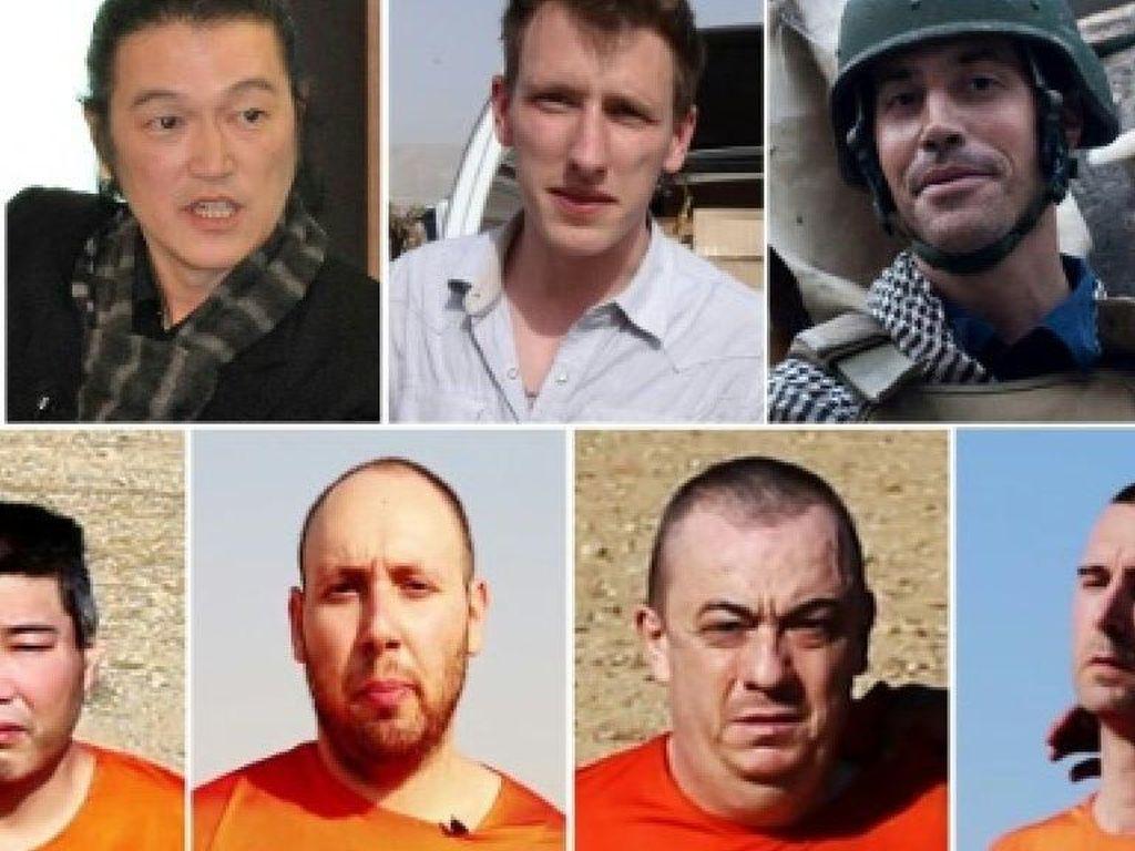 Deretan Sandera Asing yang Dieksekusi Mati Selama Kekhalifahan ISIS