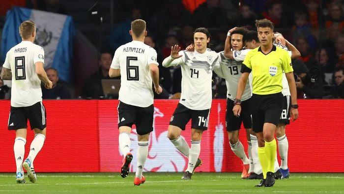 Timnas Jerman menang 3-2 atas Belanda di Kualifikasi Piala Eropa 2020. (Foto: Dean Mouhtaropoulos/Getty Images)