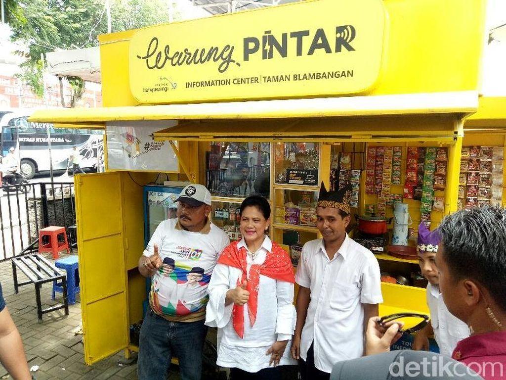 Ikut Kampanye Jokowi, Iriana Beli Batik dan Kopi Banyuwangi