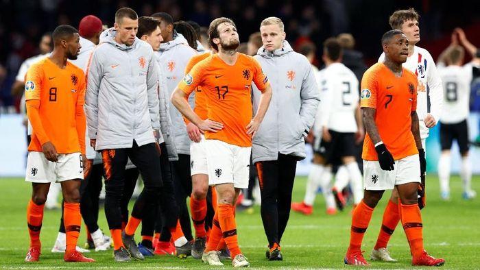 Belanda kalah 2-3 dari Jerman di Kualifikasi Piala Eropa 2020 (Foto: Francois Lenoir/REUTERS)