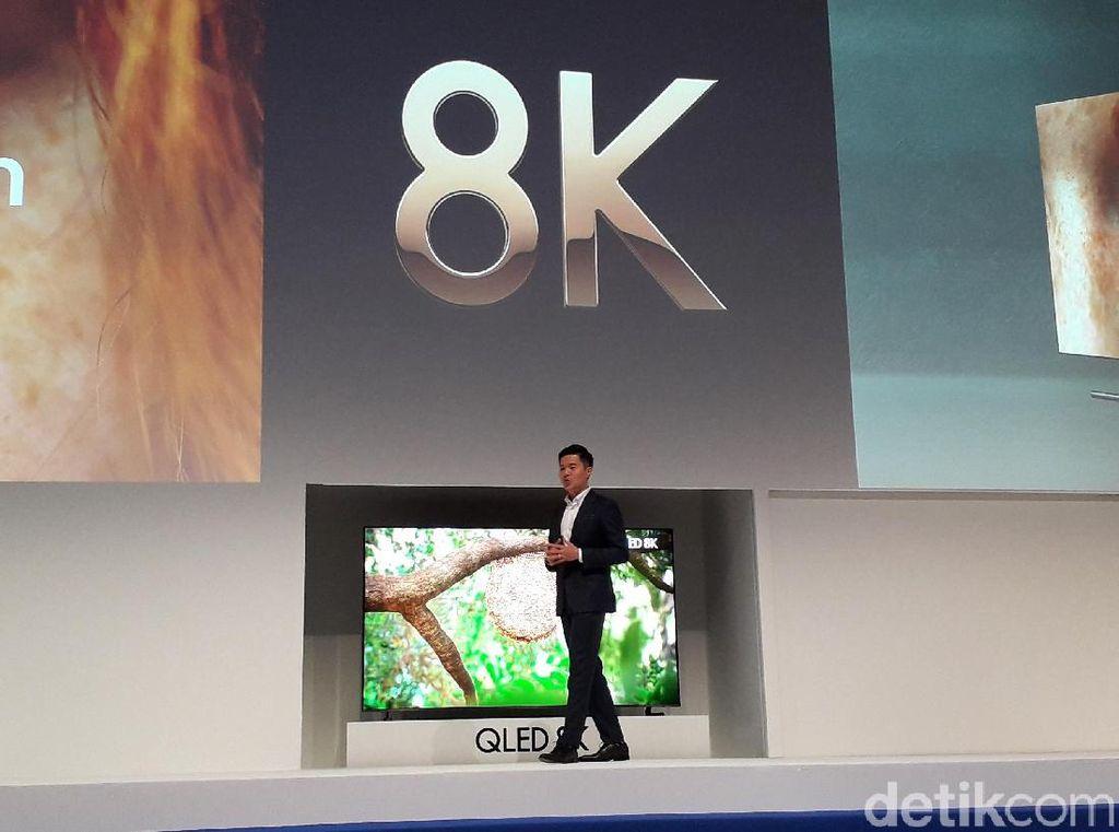 Samsung Bawa Empat TV 8K ke Indonesia, Paling Mahal Rp 1,5 Miliar