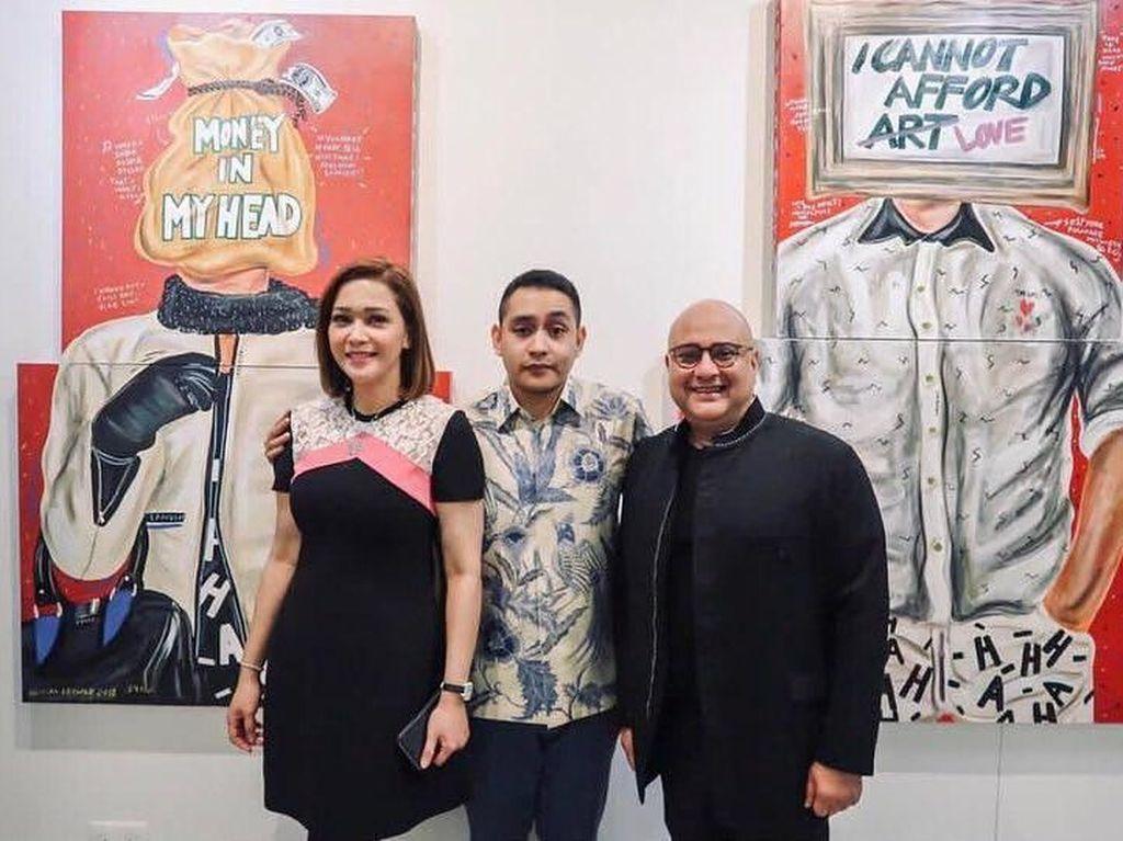 Karya Seni HAHA Naufal Abshar Bergema di Singapura