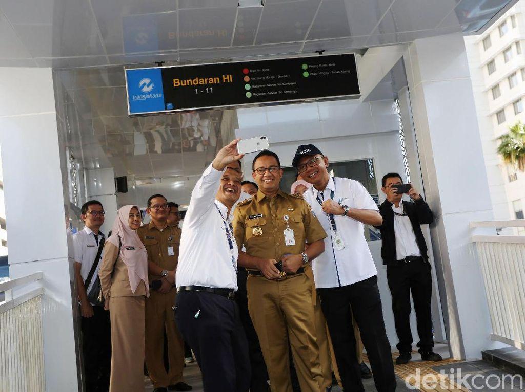 MRT-Halte TransJ Bundaran HI Belum Dilengkapi Lift untuk Difabel