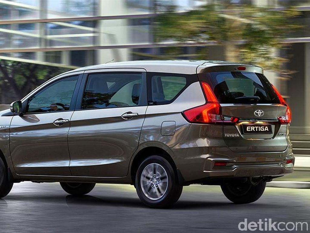 Begini Kalau Suzuki Ertiga Jadi Mobil Toyota