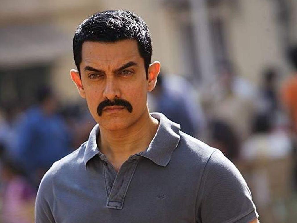 Aamir Khan Kecelakaan saat Syuting
