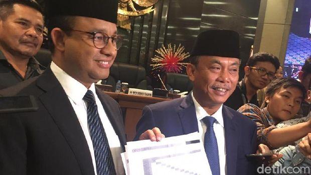 Protes Tarif MRT, M Taufik Minta Kesepakatan Anies-Ketua DPRD Dibawa ke Rapim