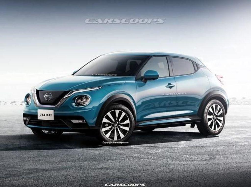 Bocor! Nissan Siapkan Juke Model Terbaru
