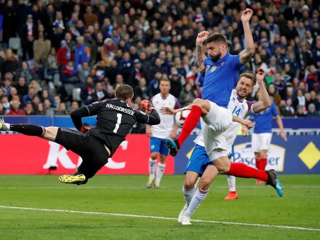 Soal Gol di Timnas Prancis, Giroud Cuma Kalah dari Platini dan Henry