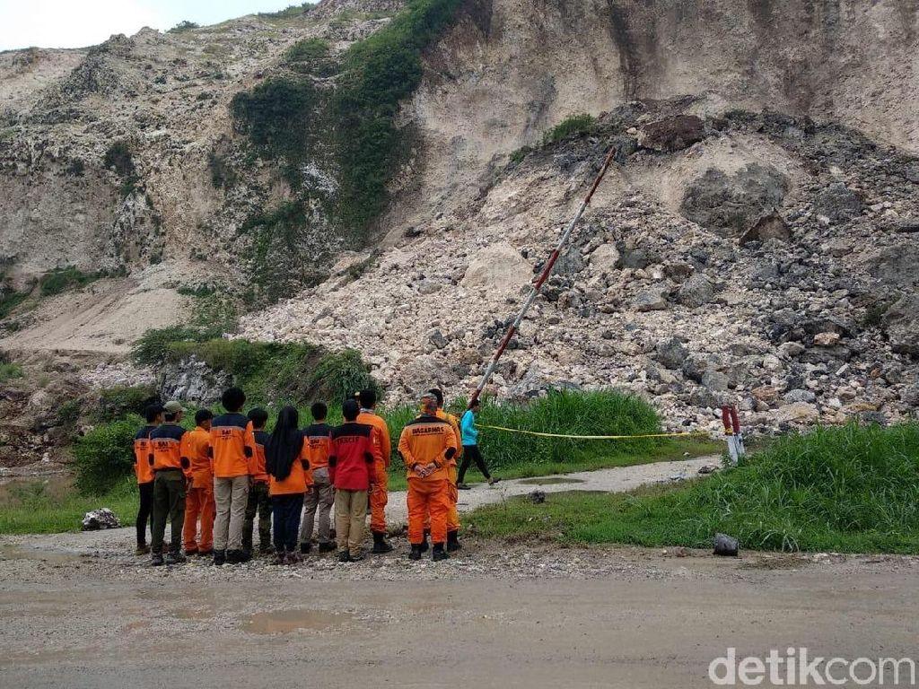 Longsor Gunung Kapur di Jember Murni Bencana Alam