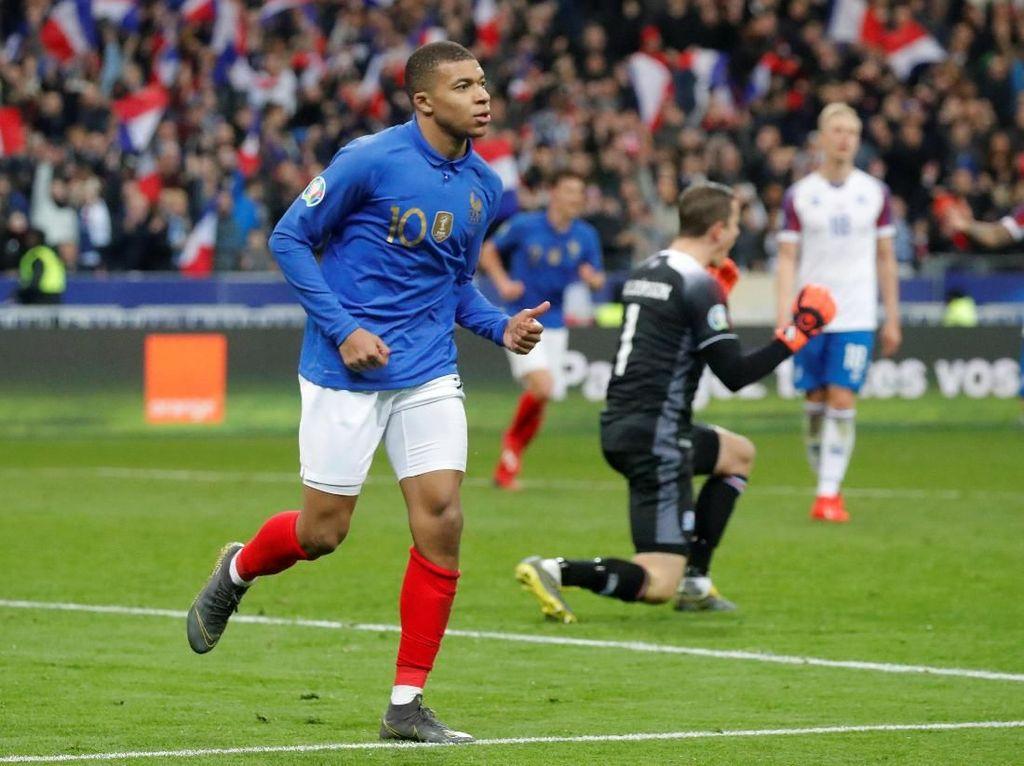 Kualifikasi Piala Eropa: Prancis Habisi Islandia 4-0