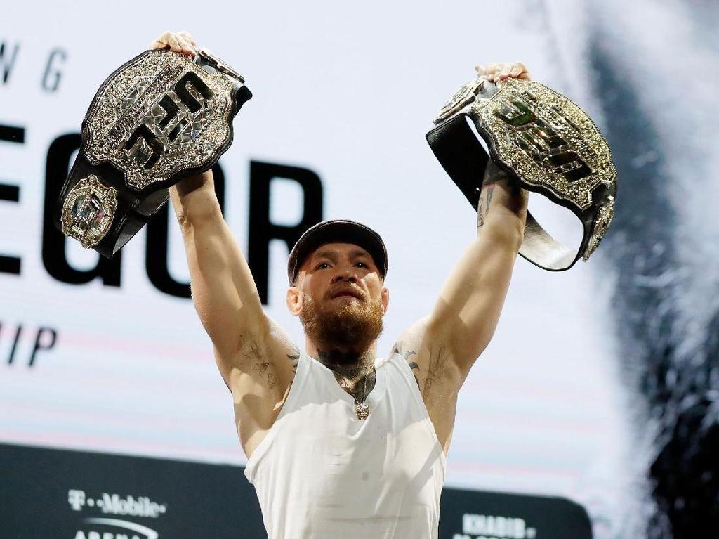 Turun di Kelas Welter, McGregor Tak Ragu Incar Sabuk Juara