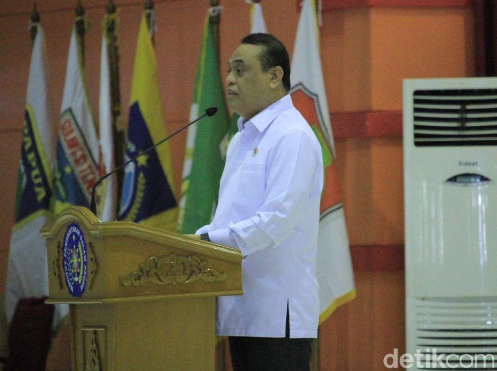 Di Depan Praja IPDN, Pemerintah Bahas Daya Saing