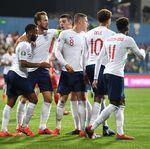 Gol-gol Inggris yang Hancurkan Montenegro