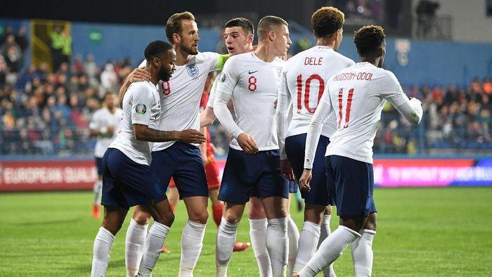 Tim Nasional Inggris Alami Pelecehan Rasial di Montenegro