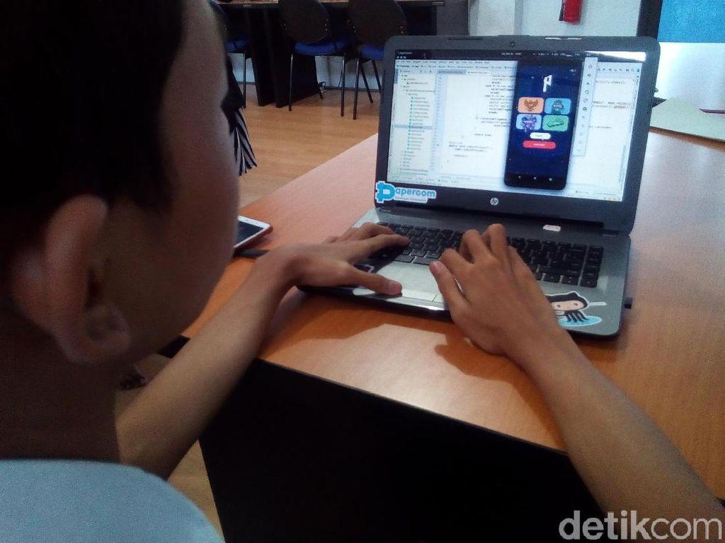 Siswa SMK Muhammadiyah Kudus Bikin Aplikasi Android Soal Budaya