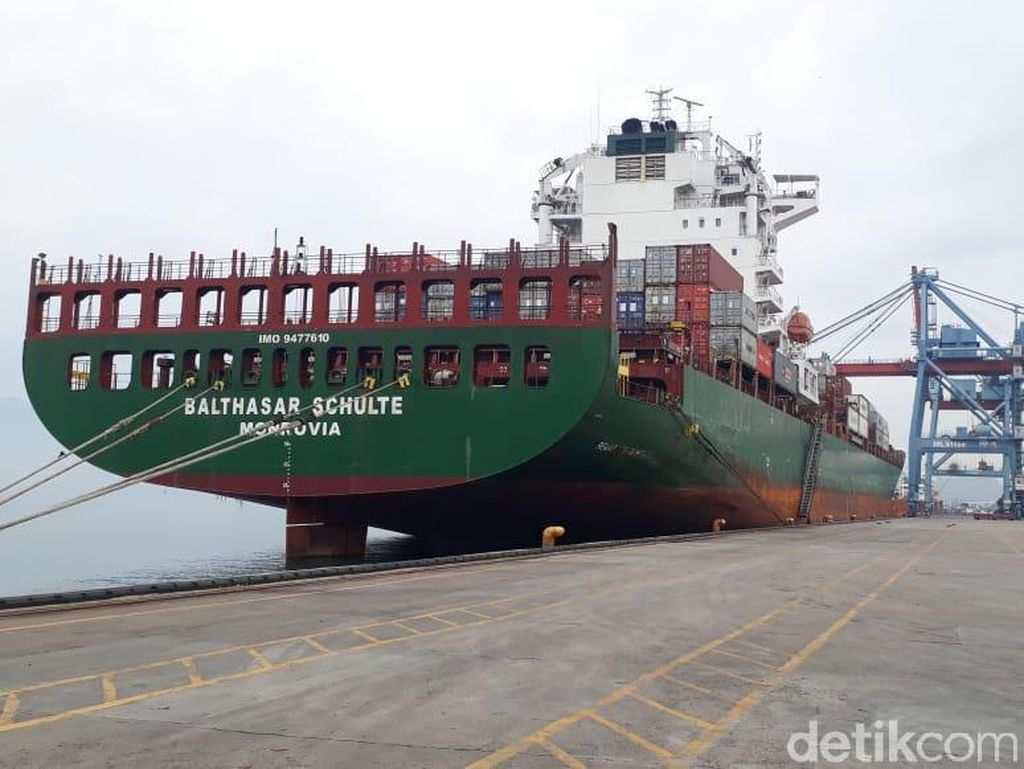 Ada Kapal Raksasa, Ekspor dari Lampung Tak Perlu Mampir Singapura