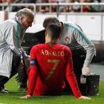 Tak Cetak Gol, Ronaldo Malah Cedera