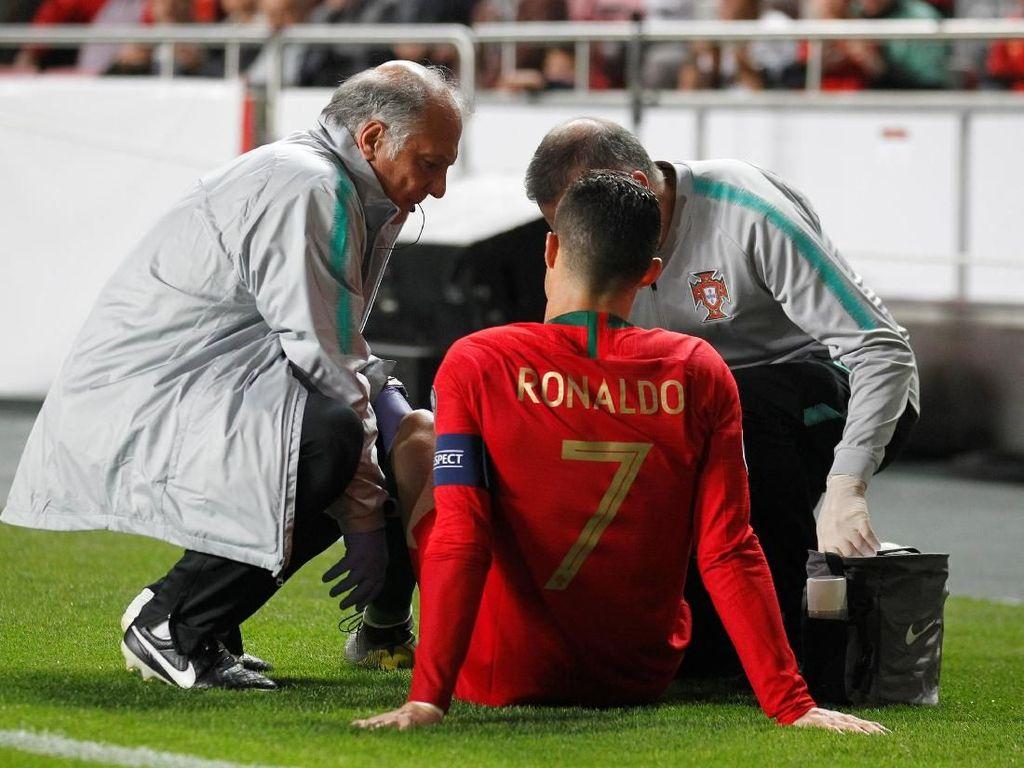 Juventus: Ronaldo Cedera Minor Saja