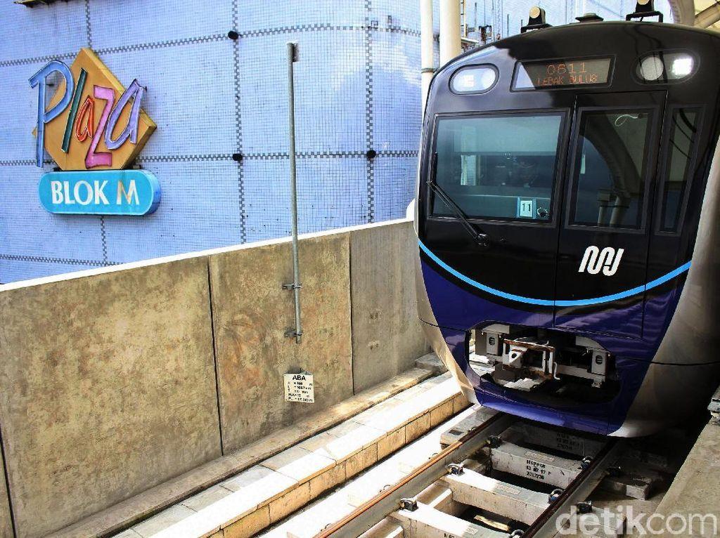 Keren! Stasiun MRT Blok M Terintegrasi dengan Mal