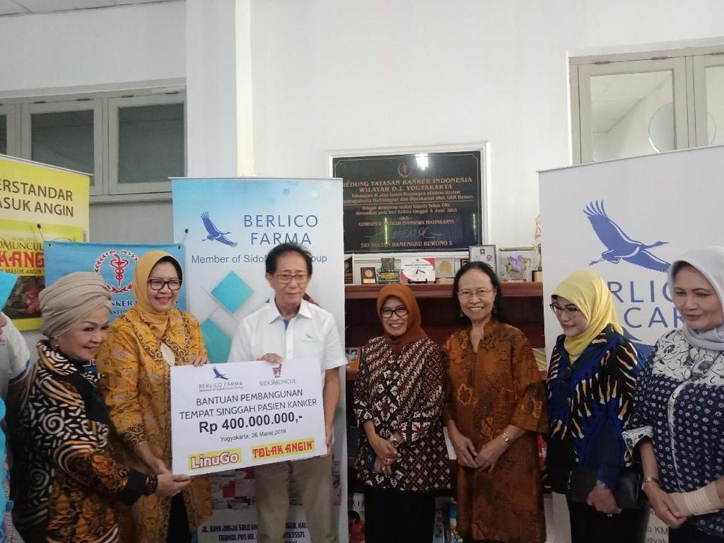 Sido Muncul Bantu Perluasan Rumah Singgah Pasien Kanker di Yogya
