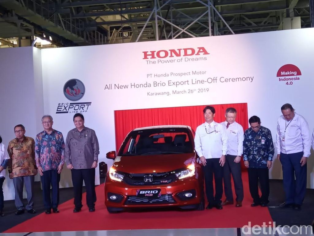 Honda Buka Puasa Ekspor Mobil Setelah 5 Tahun