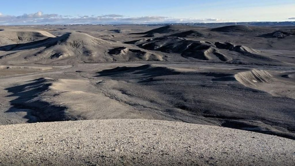 Ini Mars-nya Bumi, Pulau Tak Berpenghuni Terbesar Dunia