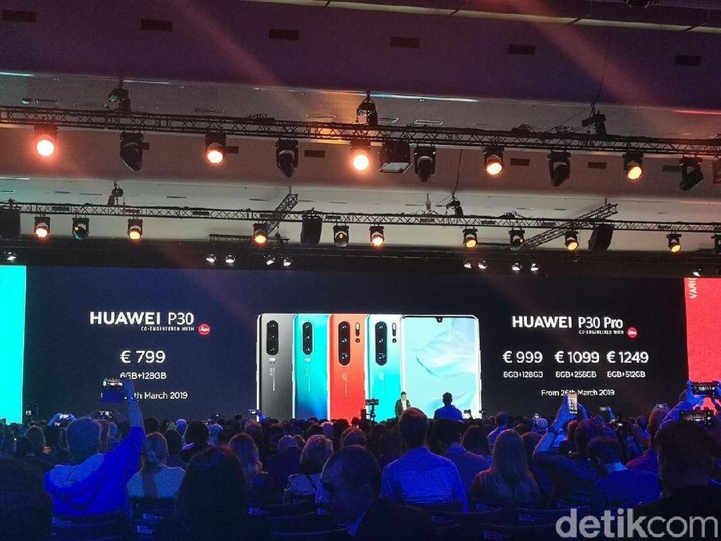 Begini Momen Kelahiran Huawei P30 dan P30 Pro di Paris