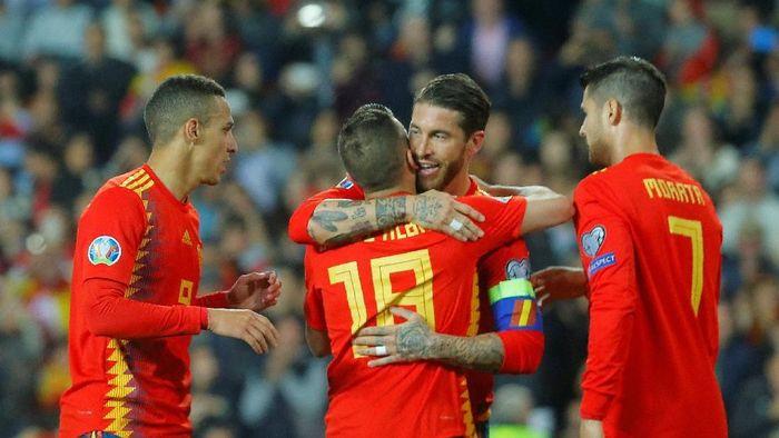 Timnas Spanyol dinilai kurang tajam di depan gawang lawan (Heino Kalis/REUTERS)