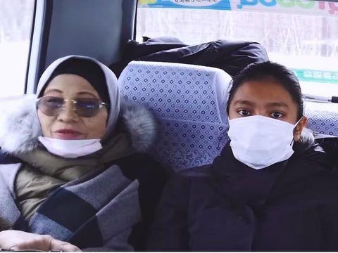 Ariel 'Noah' Bagikan Momen Hangat Ajak Putrinya Liburan ke Jepang
