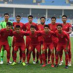 Timnas Indonesia U-23 Vs Yordania Sama Kuat di Babak I