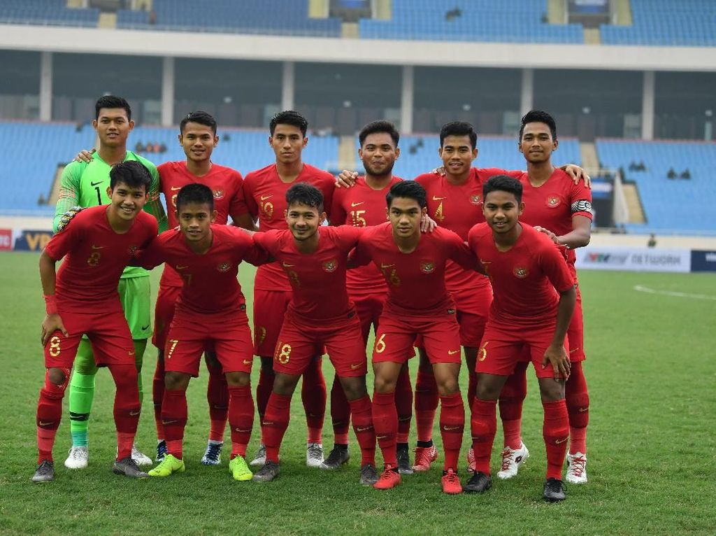 Jadwal Timnas Indonesia U-23 Vs China