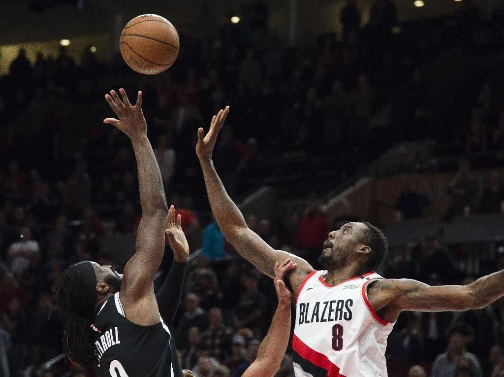 Hasil NBA: Blazers Kalahkan Nets Lewat Dua Kali Overtime