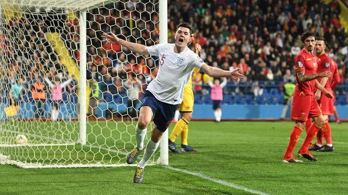 Inggris menang 5-1 atas Montenegro di Kualifikasi Piala Eropa 2020 (Foto: Michael Regan/Getty Images)