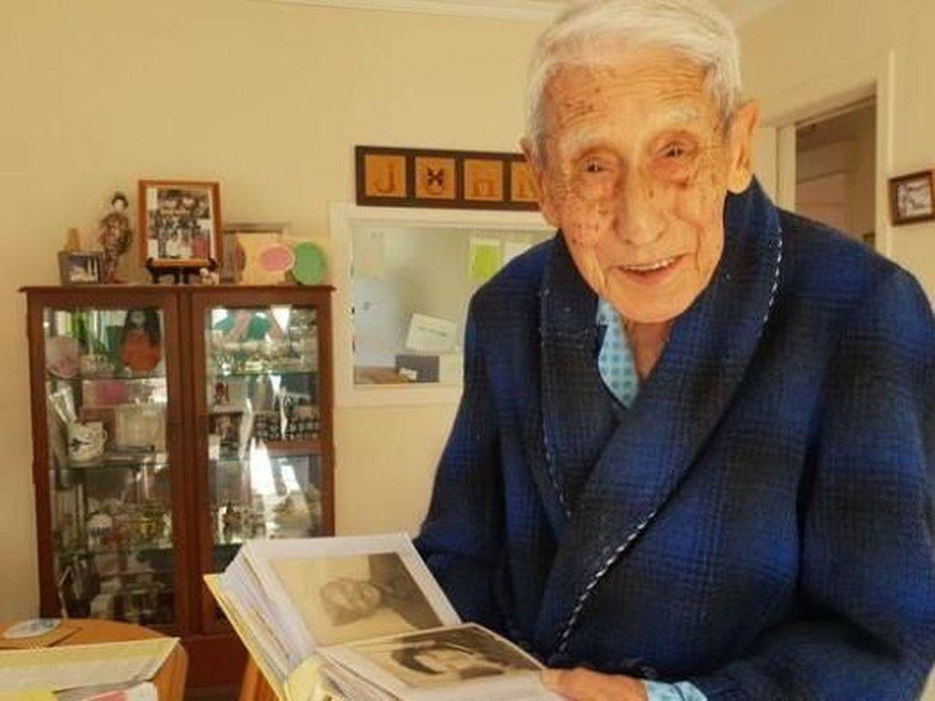 Kakek 95 Tahun 4 Kali Ganti Bus Demi Ikut Demo Antirasis di Selandia Baru