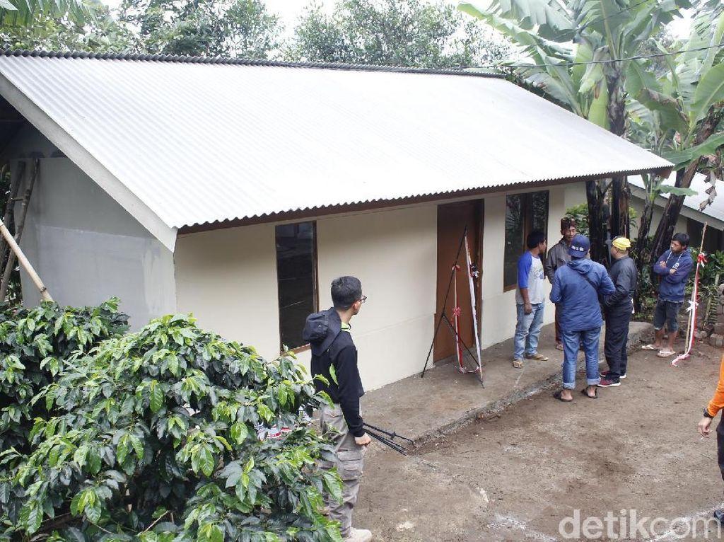 Dua Tahun Tidur di Bekas Kandang Sapi, Rumah Suhana Direnovasi
