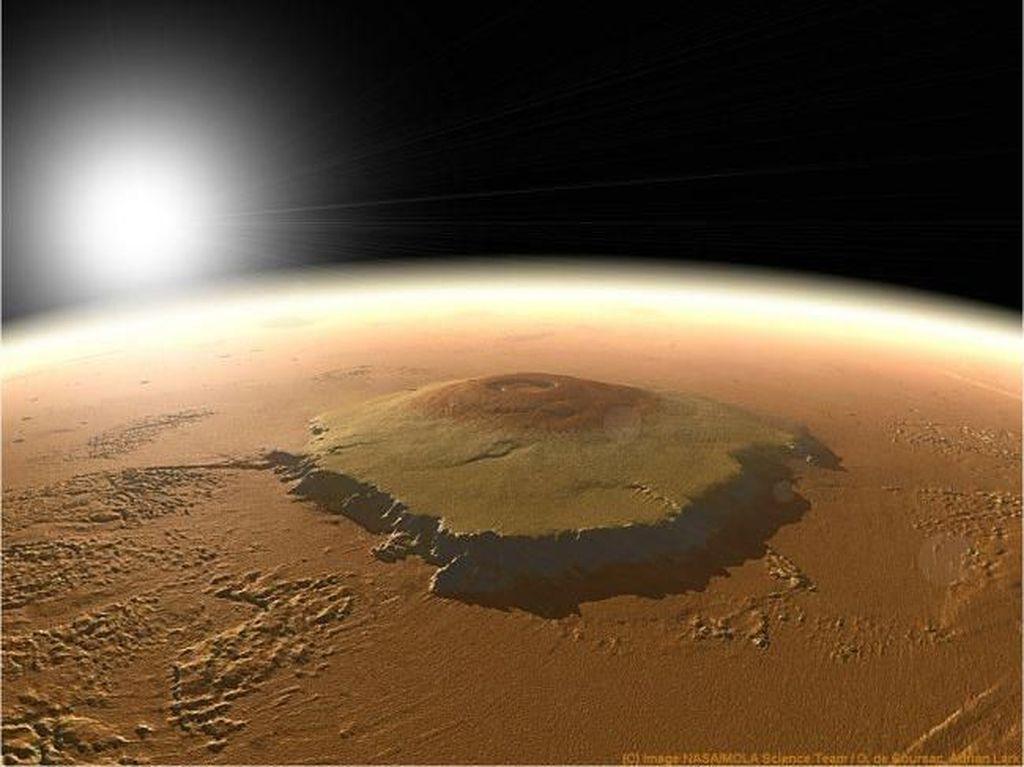 Ada Metana di Planet Mars, Apakah Tanda Ada Kehidupan?