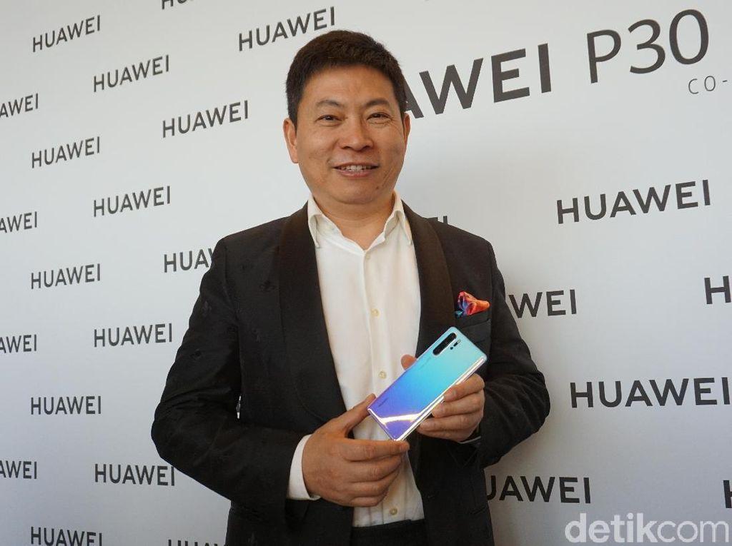 Bos Huawei Komentar Soal Ponselnya Disebut Mahal
