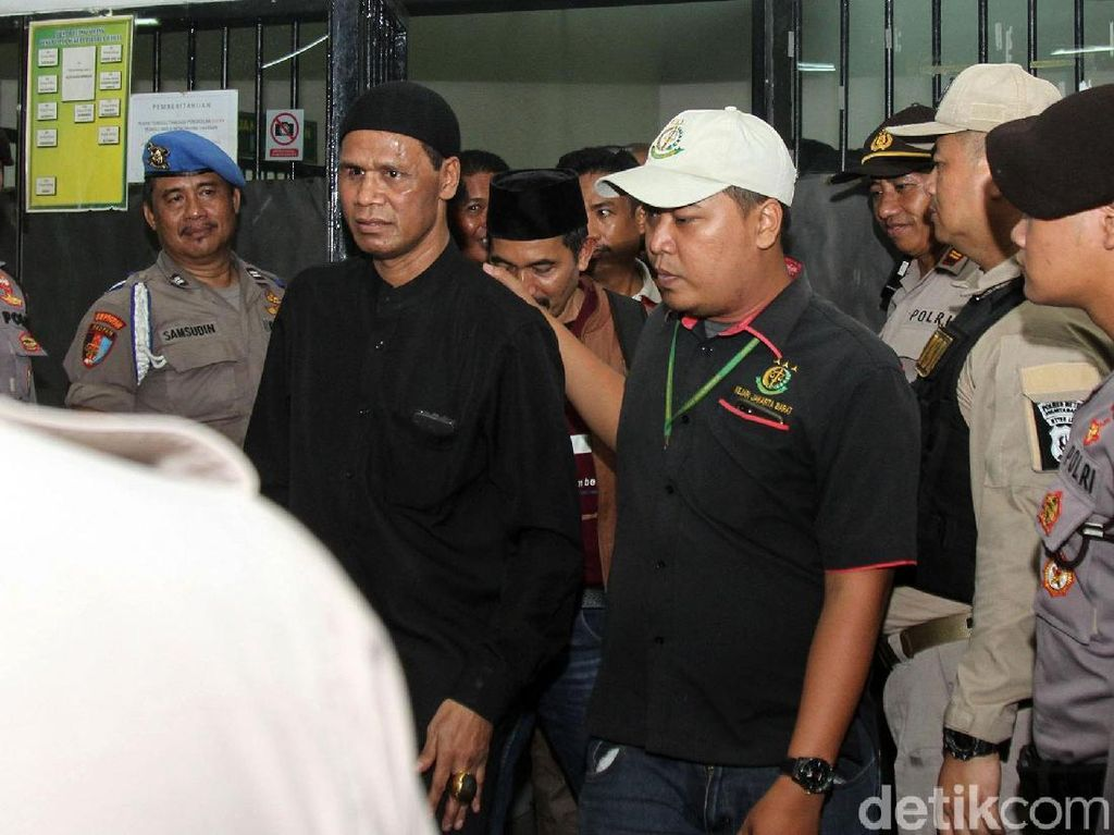 Detik-detik Hercules Ngamuk Jelang Sidang Vonis di PN Jakbar