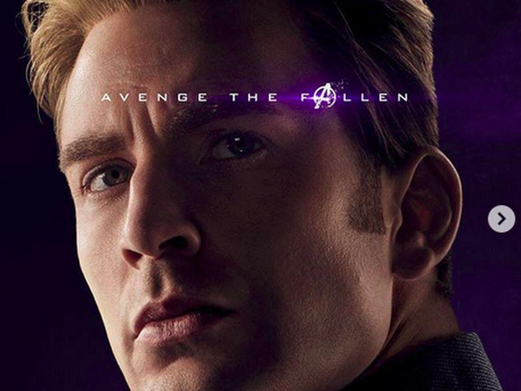 Sebulan Lagi Tayang, Avengers: Endgame Rilis Poster Terbaru