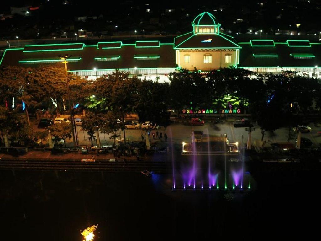 Wow! Stasiun Tawang Makin Memesona Berkat Monumen Lokomotif