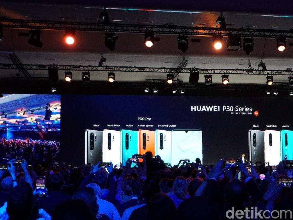 Segera Bisa Dipesan di Indonesia, Ini Spek Huawei P30 & P30 Pro
