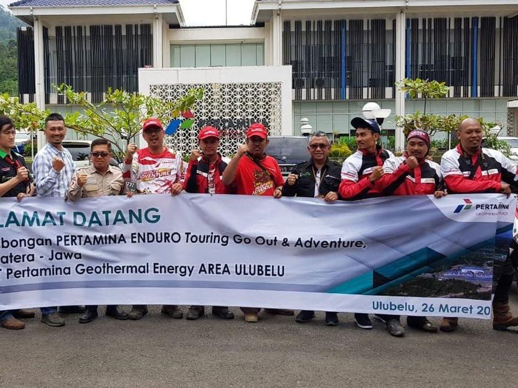 Touring Ala Pertamina Lubricants Capai Etape 4 di Kota Lampung
